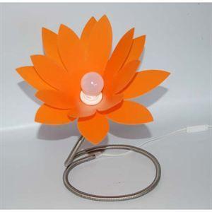 LAMPE A POSER  Lampe Marguerite Orange