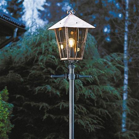 Konstsmide 430-900 Fenix Copper Garden Post Light