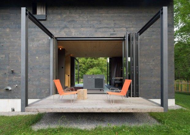 Holzhaus am Auerbach par Arnhard & Eck - Journal du Design