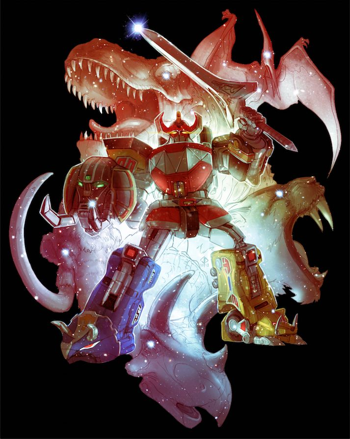 Power Rangers - The FirstMegazord