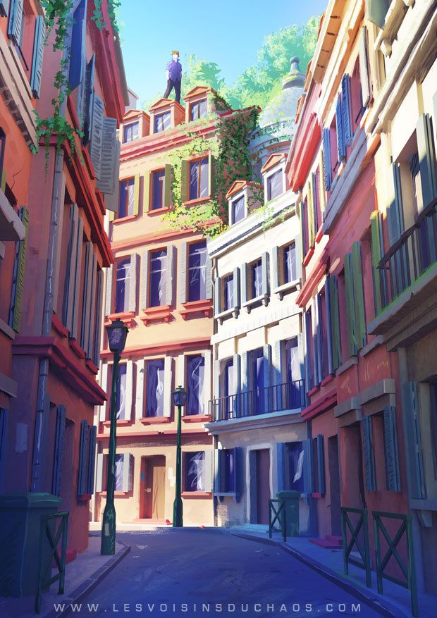 On tiles, Sylvain Sarrailh ★ || *Please support the Artists and Studios featured here by buying this and other artworks in their official online stores • Find us on www.facebook.com/CharacterDesignReferences | www.pinterest.com/characterdesigh | www.characterdesignreferences.tumblr.com |  www.youtube.com/user/CharacterDesignTV and learn more about #concept #art #animation #anime #comics || ★