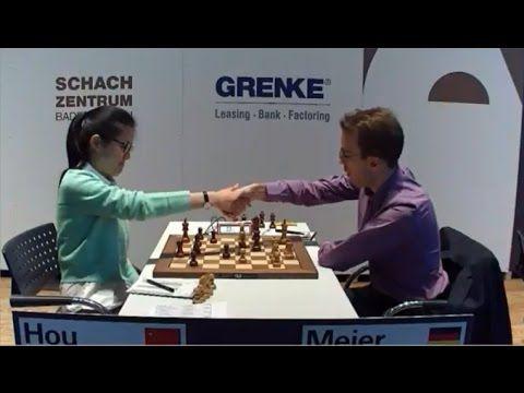 BEAUTIFUL SACRIFICE KNIGHT!!! Hou Yifan Crushes Georg Meier | GRENKE Che...