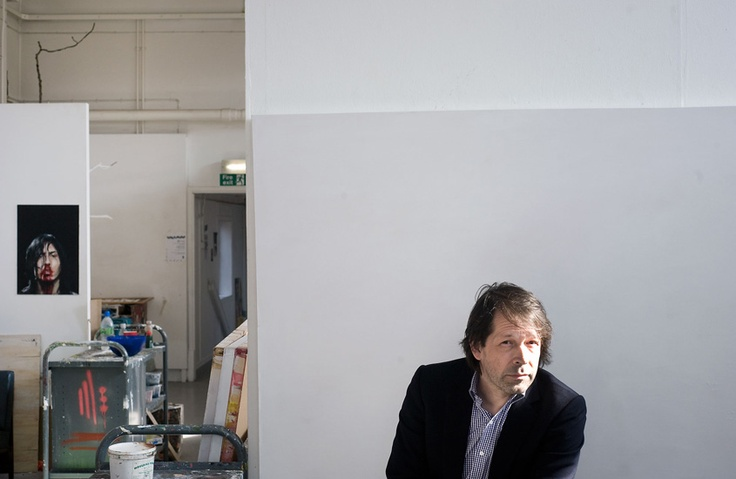 Peter Saville Photograhed by Percy Dean