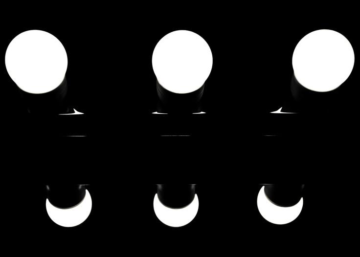 3 moons. #moon #photography #light #bn #black