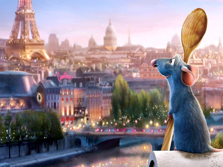 Remy in Paris: Disney's Ratatouille