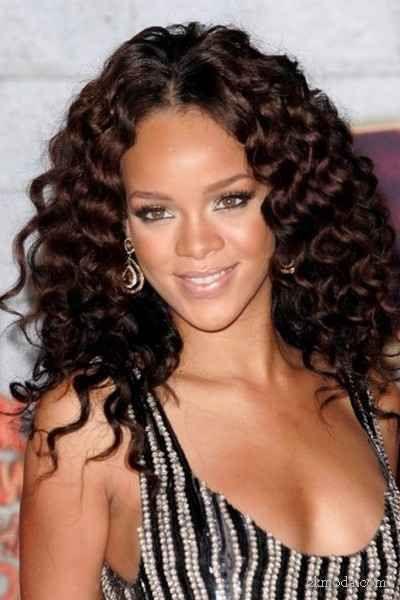 cool Kıvırcık Saç Modelleri 2014