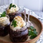Kentucky Derby Mini Chocolate-Pecan Cakes with Vanilla Bourbon Smash Ice Cream.-8