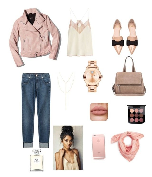 """""""Sin título #270"""" by carolinaramirez-1 on Polyvore featuring moda, Givenchy, Zadig & Voltaire, 7 For All Mankind, South Moon Under, Mackage, Chanel, H&M, Madewell y Movado"""