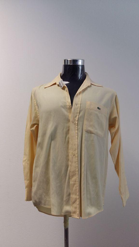 Mens Summer Shirts   Yellow La Coste   S46   XL   R95