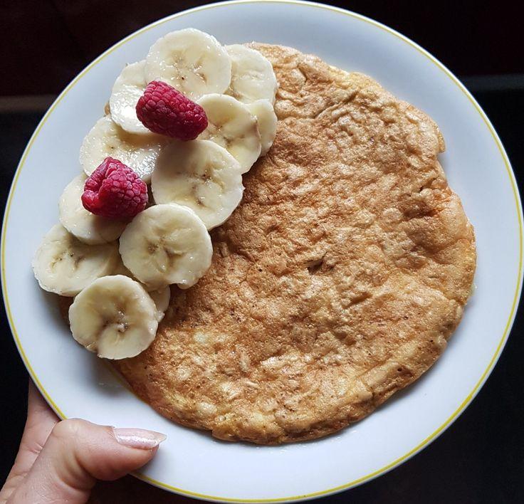 Pancake flocons d'avoine-banane