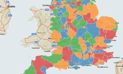 Interactive map of the new NHS commissioning system