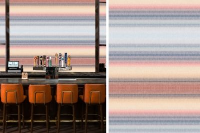 Dutch Skies inspired wallpaper surface pattern design stripes // The Style Paper