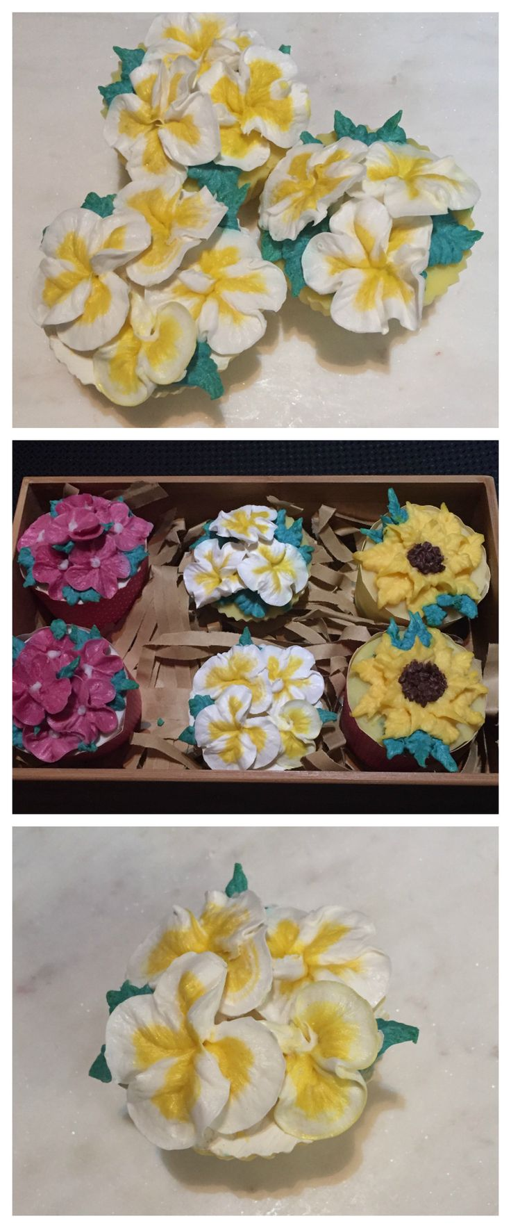 Handmade cupcake flower soaps.  https://www.littleaussiegems.com.au/collections/favours/products/handmade-frangipanni-cupcake-soaps-1