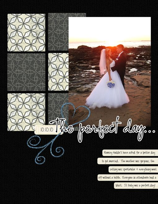 The Perfect Day - Scrapjazz.com