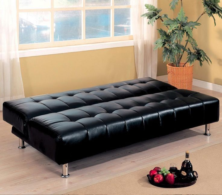 bedroom dhp emily convertible futon couch bed with faux leather