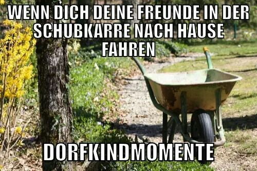 Dorfkindmoment