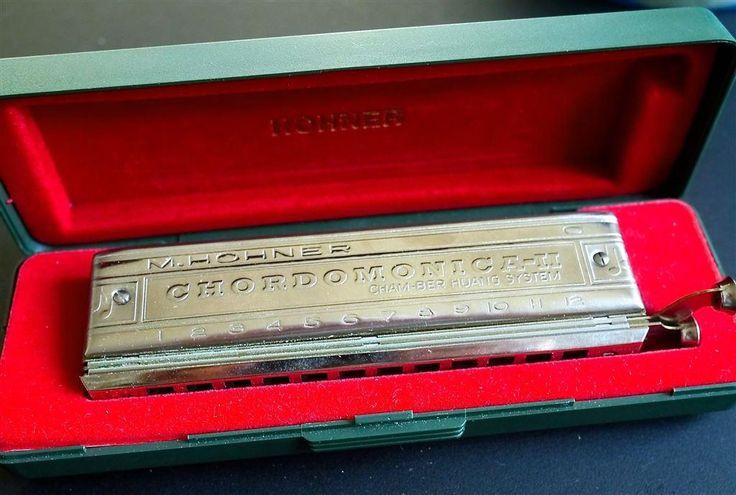 Hohner Chordomonica-II C munspel på Tradera.com - Blåsinstrument |