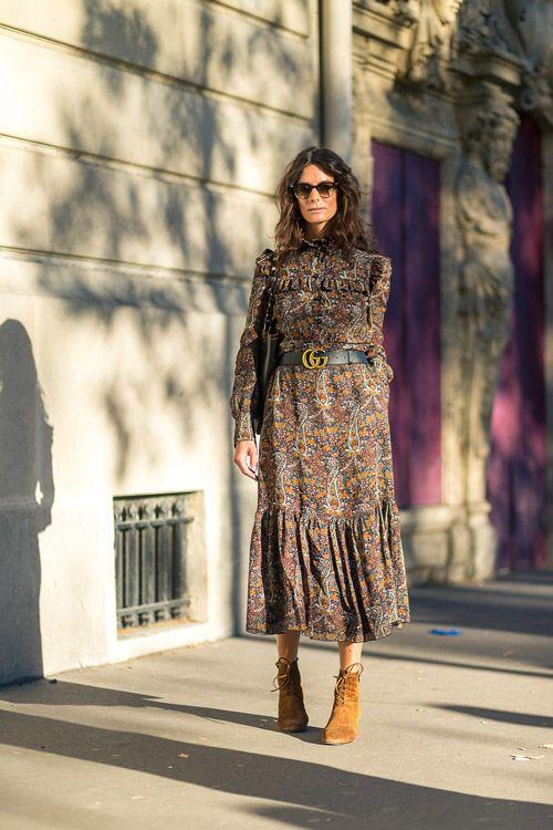 уличная мода Парижа весна/лето 2017