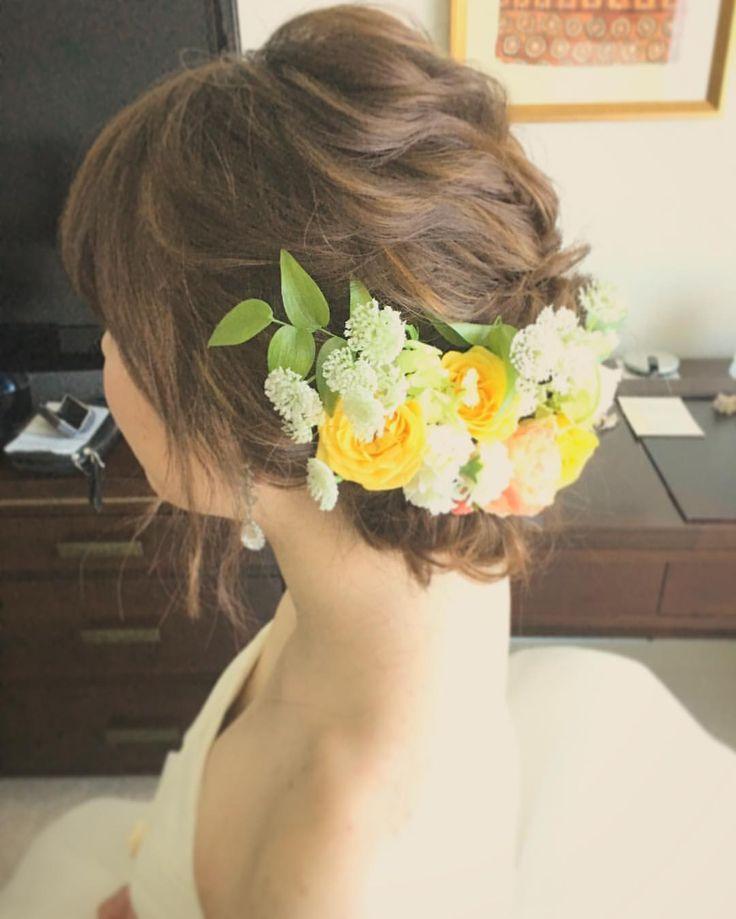 いいね!128件、コメント1件 ― Rie Kobayashi hair&makeさん(@rie0393)のInstagramアカウント: 「ウェーブで自然にやさしく。 Produced by @laviefactoryhawaii @laviefactory Hair and Make by @rie0393…」