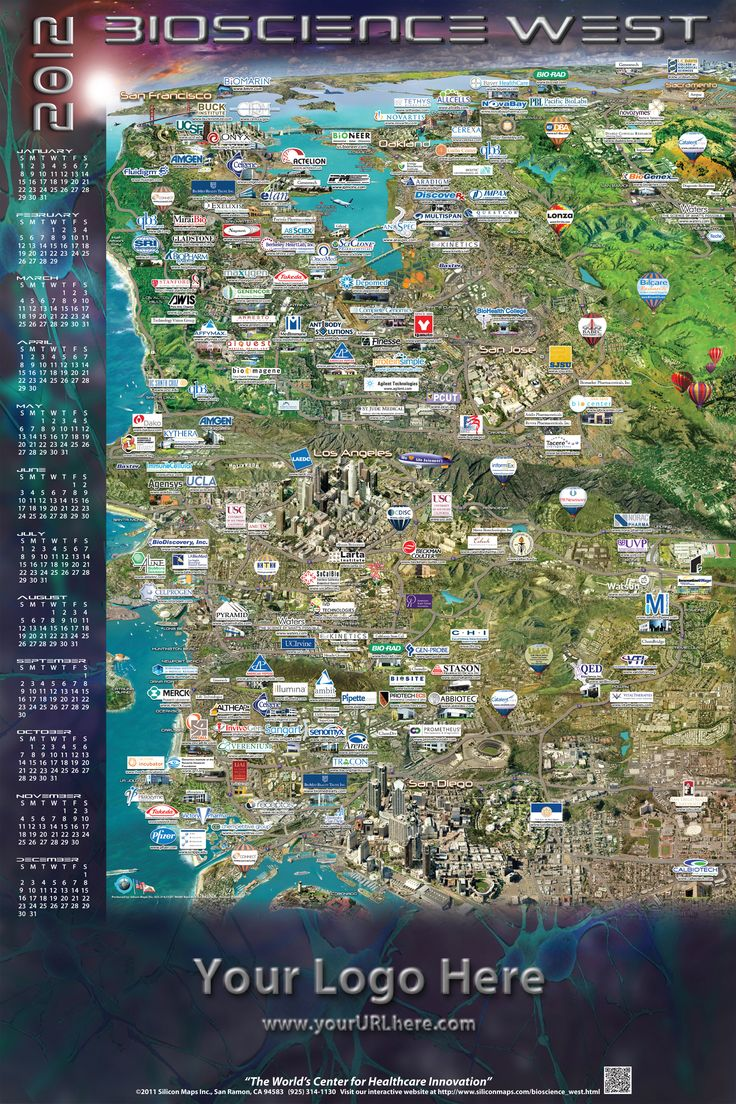 Bioscience West Map 21 best Silicon Maps