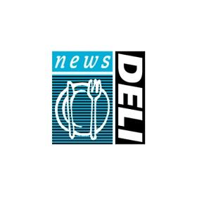 news DELIのロゴ:敢えて表現をバラバラに。 | ロゴストック