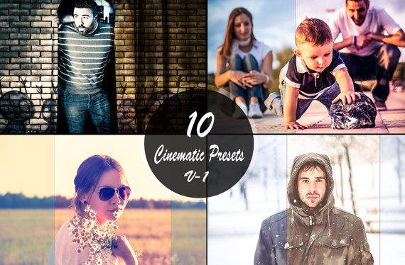 Sale 50 OFF  Cinematic Presets V1 Photography Editing by ONESMFA, $4.00
