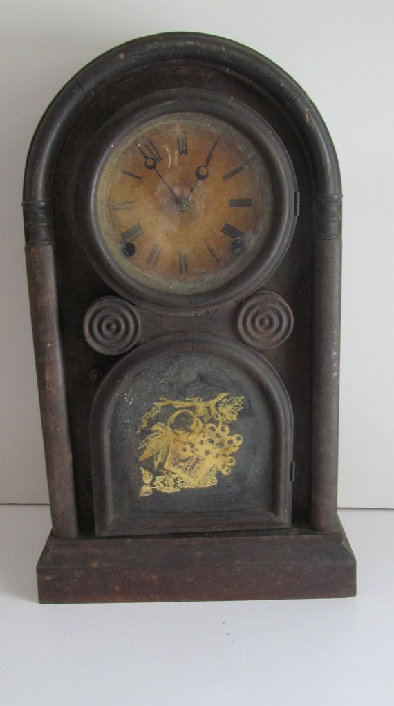 Rare 1866 Antique Mantle Clock N. Pomeroy by ReVintageLannie