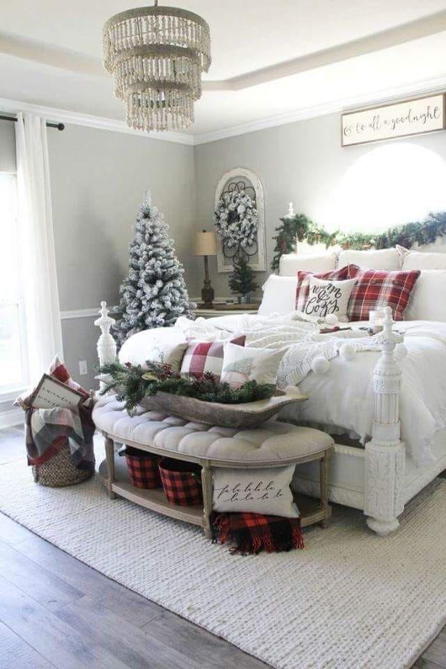 Christmas Holiday Bedroom Berkeleyergo Sleepisgood Naturalmattress Christmas Room Christmas Bedroom Farmhouse Christmas Decor