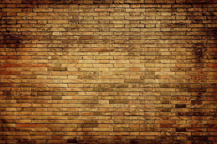 Tegel Mur Tegelvägg Tegelstenar fototapet/tapet från Happywall