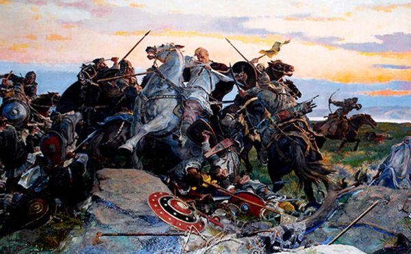 De abia la venirea slavilor in Europa, sensul de valah se va aplica strict populatiei de la nordul Dunarii, ca o recunoastere a descendentei acesteia din Imperiul Roman. Cronicile bizantine, incepand cu secolul al X-lea, vor defini comunitatile de pe teritoriul fostei provincii Dacia cu acest apelativ.