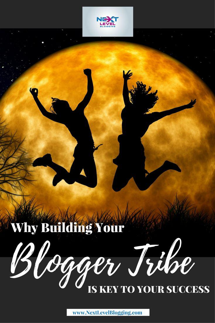 Blogger Tribe Key To Success - Pinterest Image