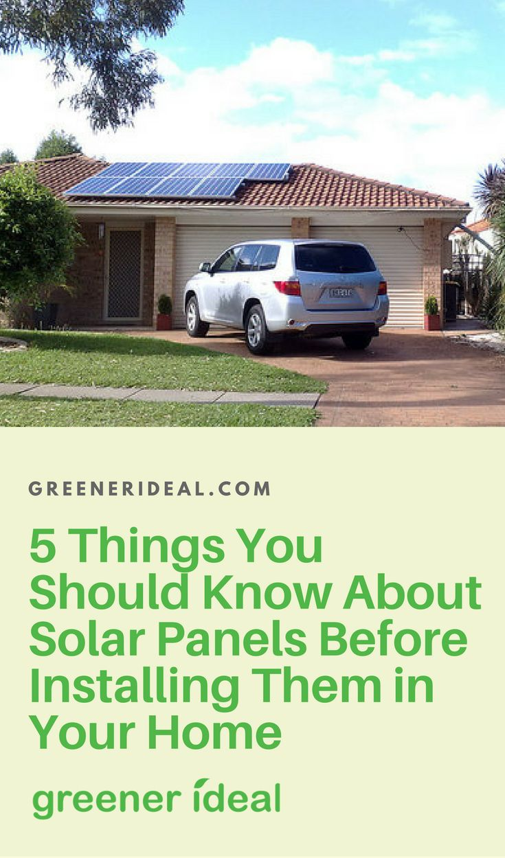 Let's look over some important factors that you need to consider before installing a solar panel system in your own home or business. This is a fairly big decision and you need to have at least your basic facts straight if you want to go ahead with it.