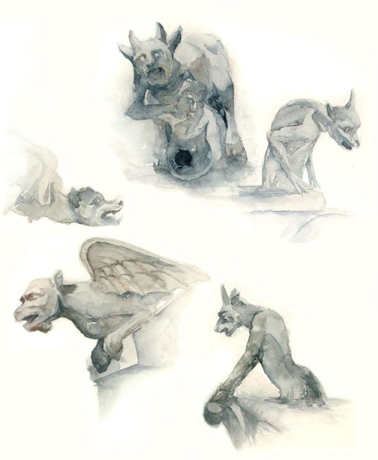 106 Best Gargoyles Images On Pinterest