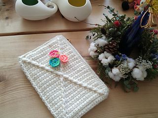 """X"" clutch pattern by dodo-studio"