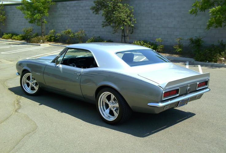 1967 Camaro..make it a t top, touch of paint and restored orig tires and we're golden