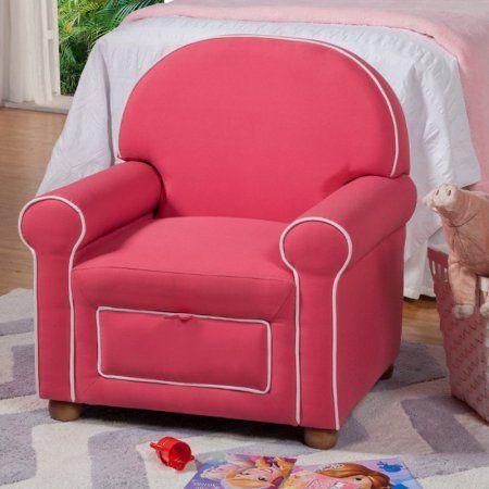 Juvenile Storage Chair, Pink