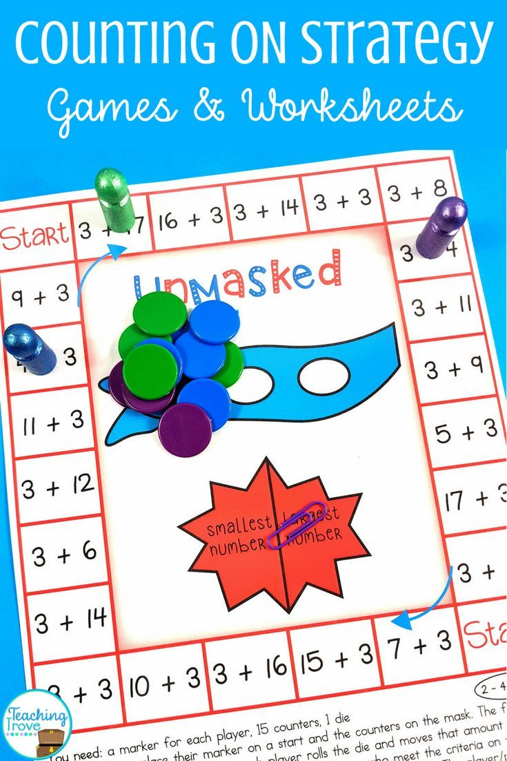 Counting On Addition Strategy Addition Strategies Addition Worksheets Math Addition Counting on addition strategy worksheets