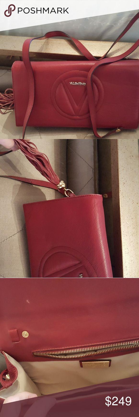 Authentic valentino crossbody  bag Authentic valentino crossbody bag in red Valentino Bags Crossbody Bags