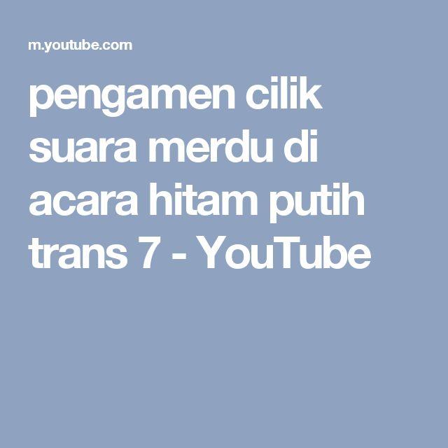 pengamen cilik suara merdu di acara hitam putih trans 7 - YouTube