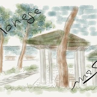 野辺地海岸公園    恐山からむつ市へ、特にこれといったとこなくそのまま横浜海岸で車中泊、いい掘り抜き井戸から冷たい水がジャージャー思わず洗濯などして乾くまで一休み