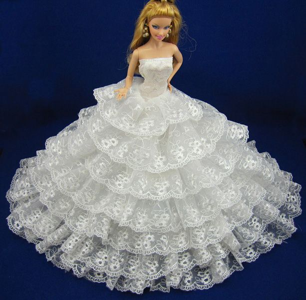 barbie wedding dresses barbie doll wedding dress clothes