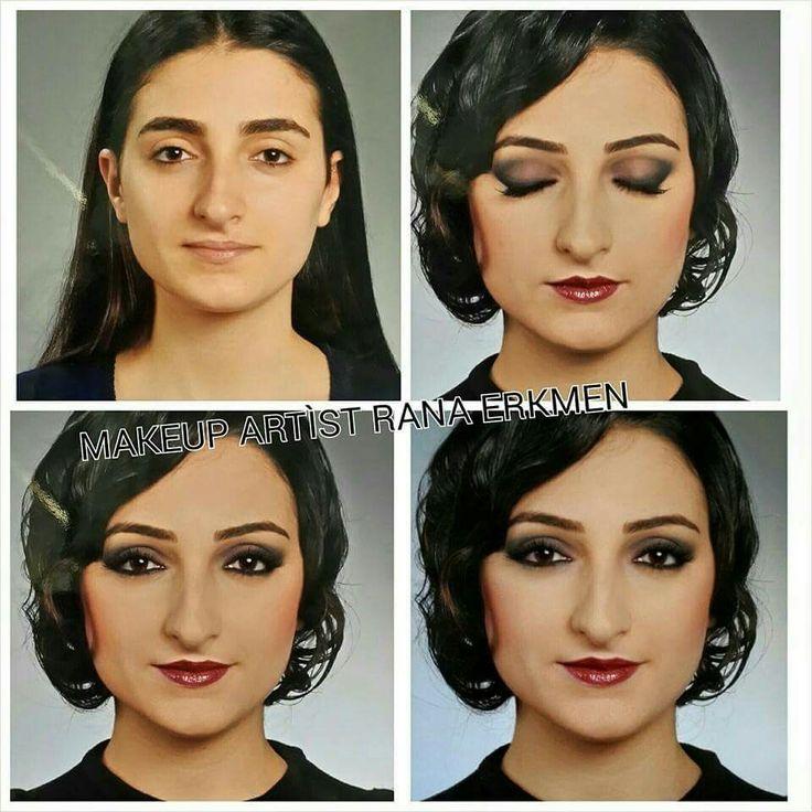 Nostalji 1920 ler makyajı