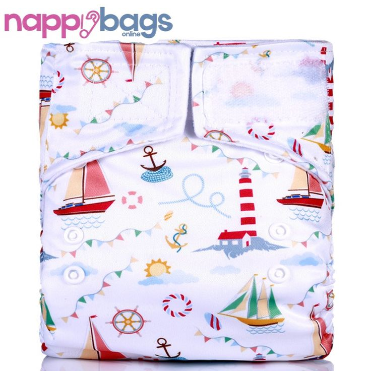 Sail Away Bamboo 3 - 36 Mth Waterproof Cloth Nappy //Price: $15.52 & FREE Shipping //     #parenting