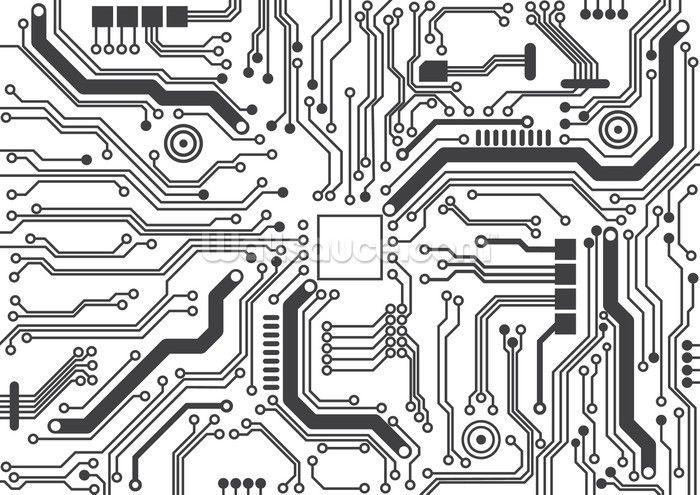 Circuit Board Background Texture Wallpaper Wall Mural Wallsauce Usa 700x495 Jpeg Circuit Board Design Electronic Tattoo Circuit Board Circuit board electronics wallpaper hd