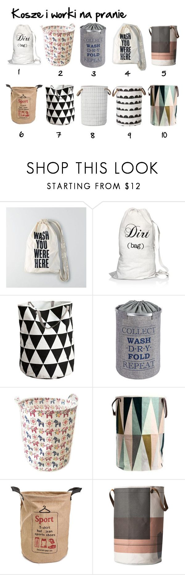"""laundry day :)"" by izostworekblogspot on Polyvore featuring interior, interiors, interior design, dom, home decor, interior decorating, American Eagle Outfitters, Bag-All i ferm LIVING"
