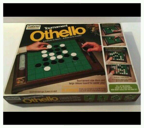 Vintage Gabriel Tournament Othello Game, New & Complete #Gabriel
