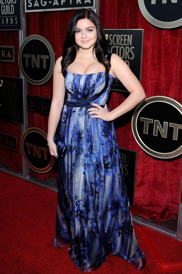 Modern Family star Ariel Winter at the SAG Awards