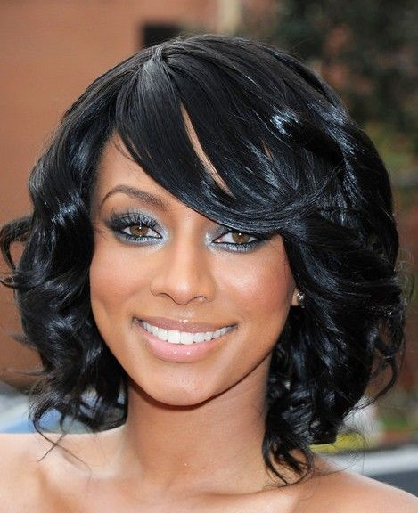 black hair styles for mid length