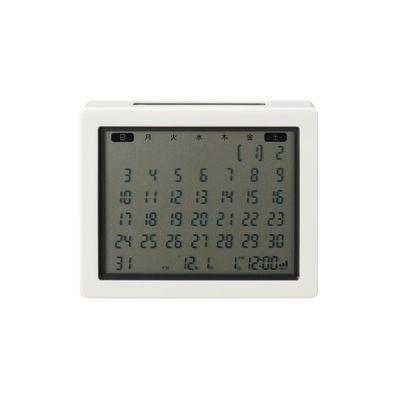 ソーラー電波カレンダー 置時計
