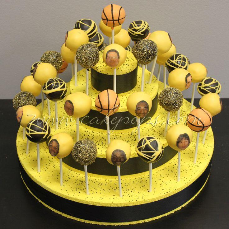 Candy's Cake Pops: Basketball Cake Pops Team Heritage